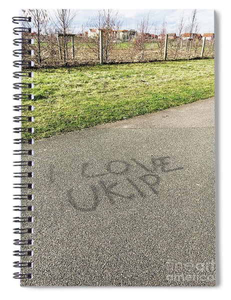 Ukip Grafitti Spiral Notebook