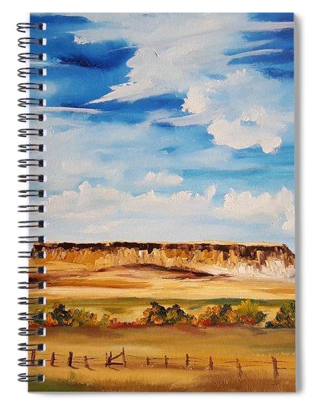 Ulm Montana First People's Buffalo Jump   93 Spiral Notebook