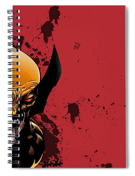 Ultimate Wolverine Vs. Hulk Spiral Notebook