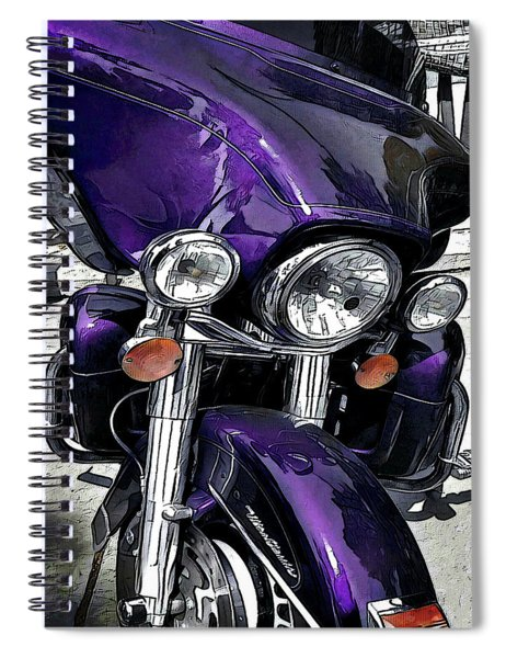Ultra Purple Spiral Notebook
