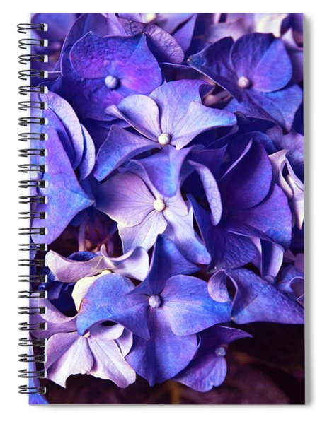Ultra Violet Dance Spiral Notebook