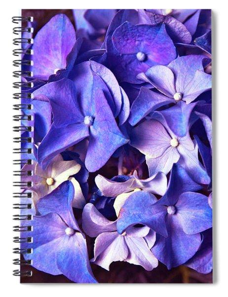 Ultra Violet Dance Spiral Notebook