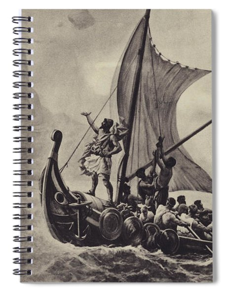 Ulysses Deriding The Cyclops Spiral Notebook