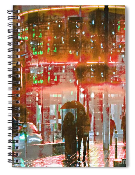 Umbrellas Are For Sharing Spiral Notebook