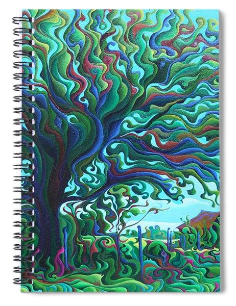 Umbroaken Stillness Spiral Notebook