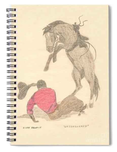 Unconquered Spiral Notebook