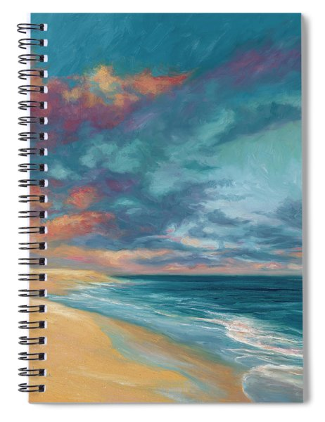 Under A Painted Sky Spiral Notebook