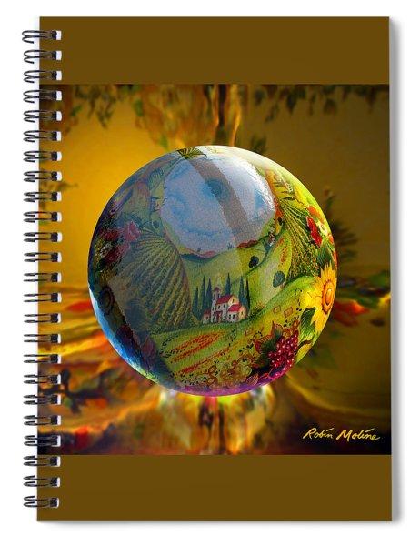 Under A Tuscan Sun Spiral Notebook