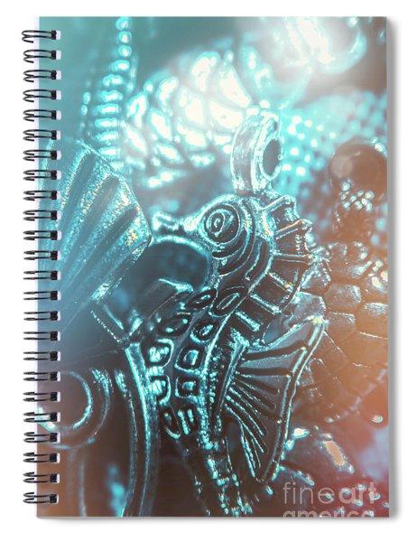 Under Blue Seas Spiral Notebook