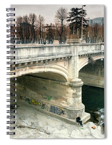 Under The Bridge Spiral Notebook