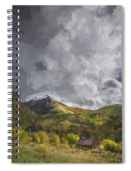 Under The Clouds II Spiral Notebook