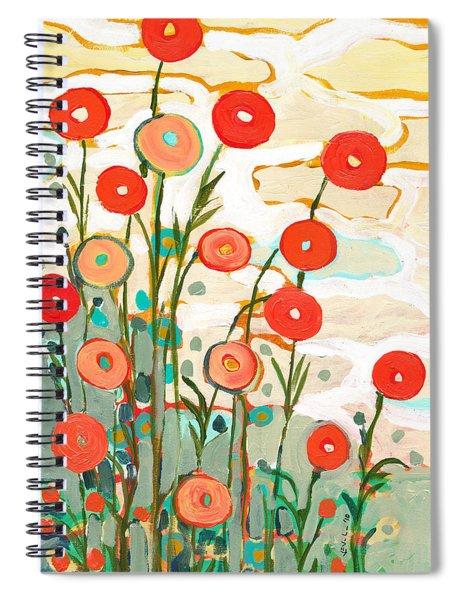 Under The Desert Sky Spiral Notebook by Jennifer Lommers