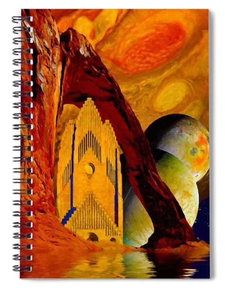 Under The Giants Eye Spiral Notebook