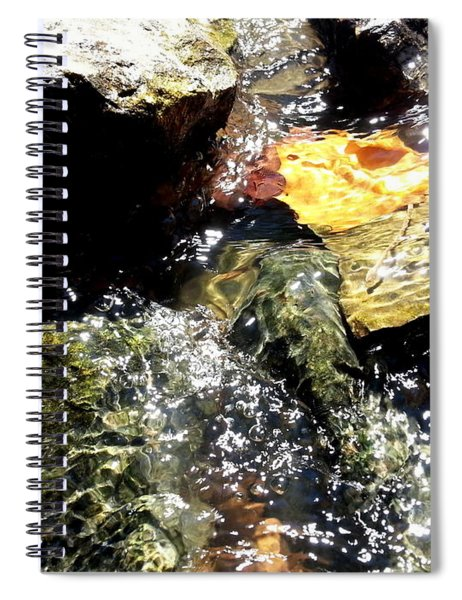 Under The Glass Of Water Spiral Notebook