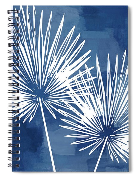 Under The Palms- Art By Linda Woods Spiral Notebook