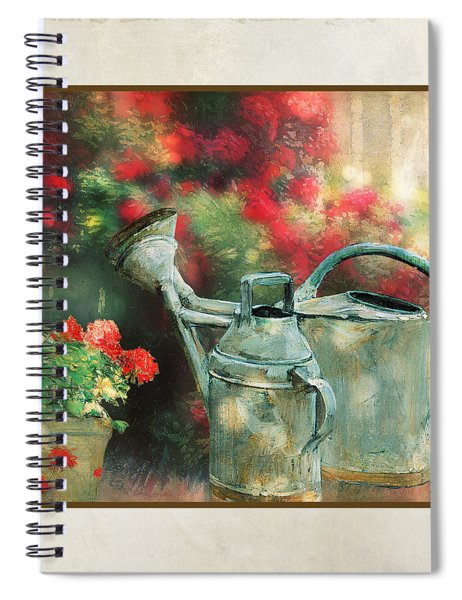 Under The Trees Spiral Notebook