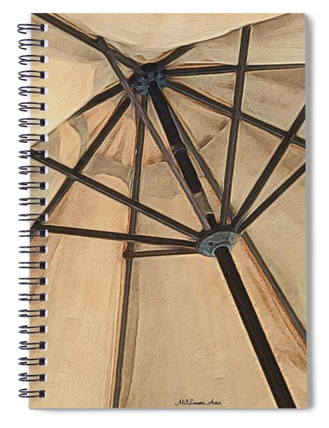 Under The Umbrella Spiral Notebook
