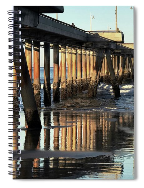 Under The Venice Beach Pier Spiral Notebook