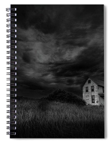 Under Threatening Skies Spiral Notebook