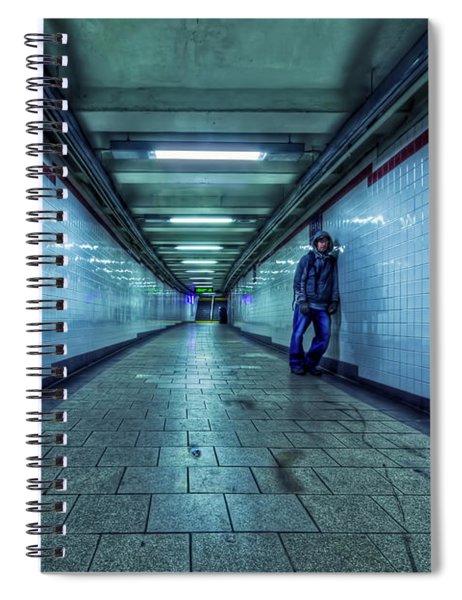 Underground Inhabitants Spiral Notebook