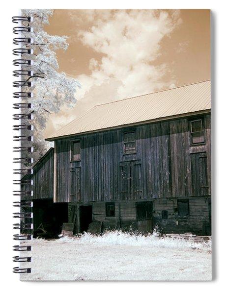 Underground Railroad Slave Hideout Spiral Notebook