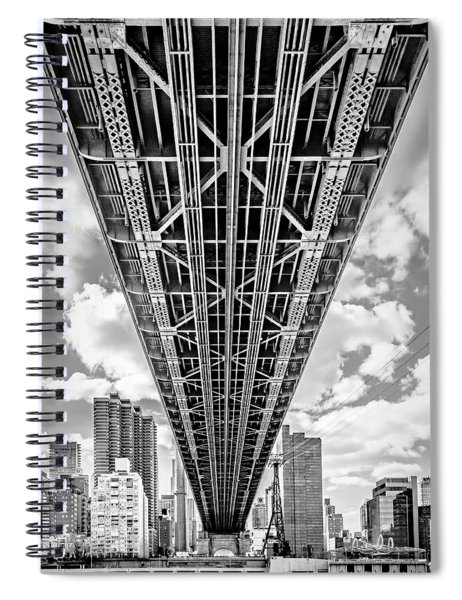 Underneath The Queensboro Bridge Spiral Notebook
