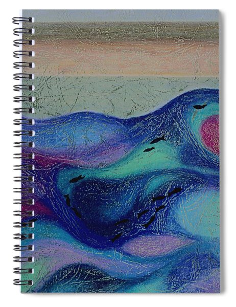 Undersea Movement Spiral Notebook