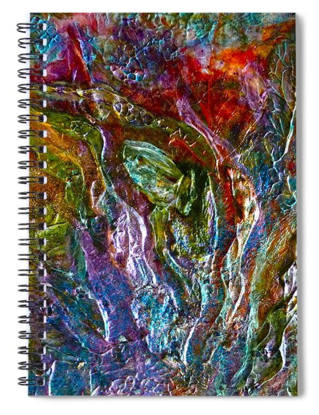 Underwater Seascape Spiral Notebook