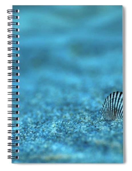 Underwater Seashell - Jersey Shore Spiral Notebook