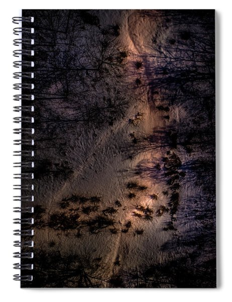 Underworld Light Spiral Notebook