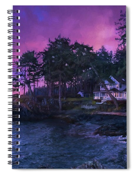 Undreamed Shores - Chesapeake Art Spiral Notebook