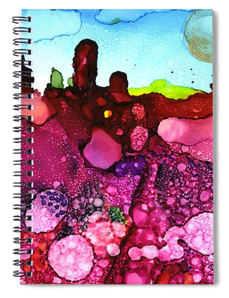 Unearthly Places Spiral Notebook