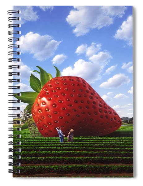 Unexpected Growth Spiral Notebook