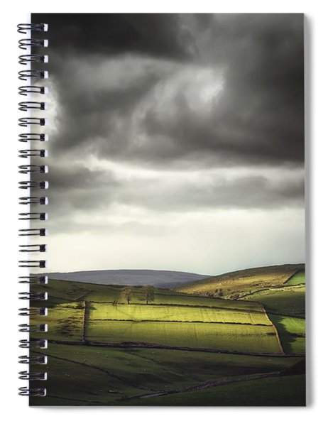 Unfolding Drama Spiral Notebook