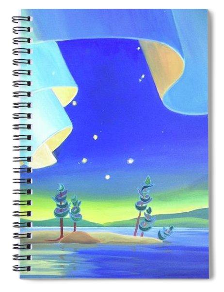 Unfurling Spiral Notebook