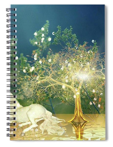 Unicorn Resting Series 2 Spiral Notebook
