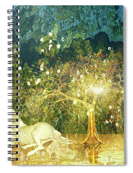 Unicorn Resting Series 3 Spiral Notebook