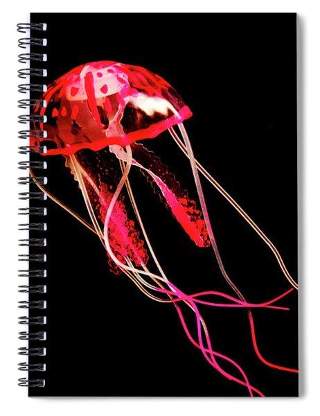 Uninhibited Darkness Spiral Notebook