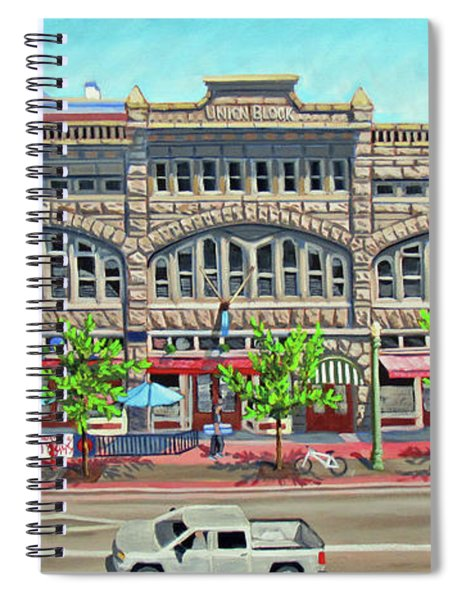 Union Block Building - Boise Spiral Notebook
