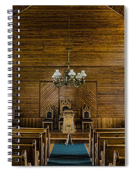 Union Christian Church Sanctuary Spiral Notebook