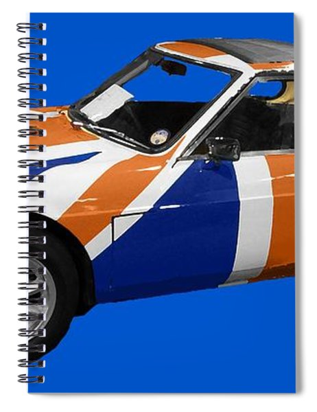 Union Jack Sports Art Spiral Notebook