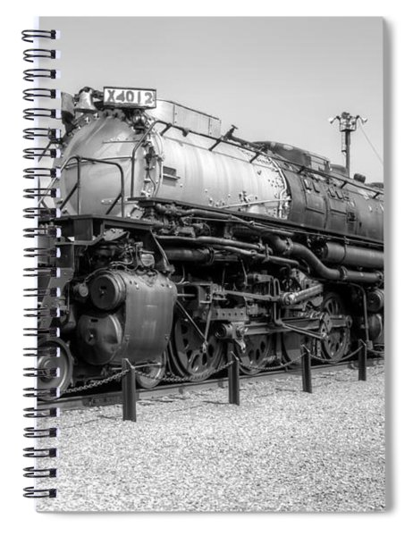 Union Pacific 4012 Spiral Notebook
