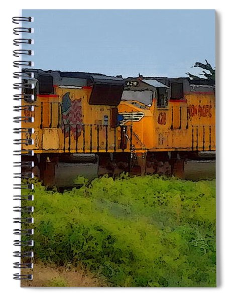 Union Pacific Line Spiral Notebook