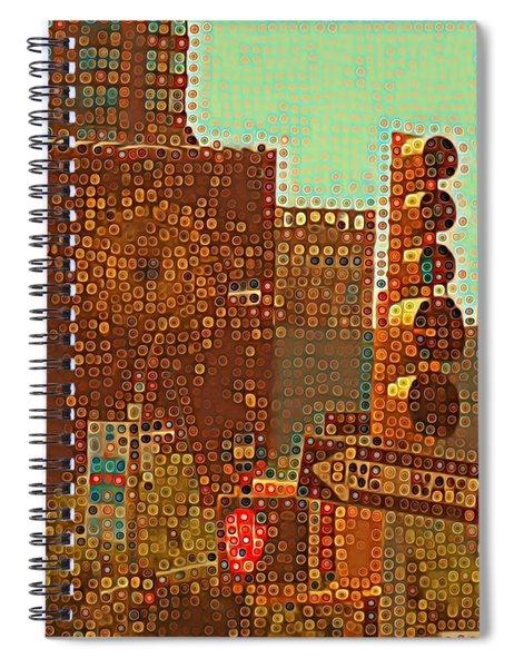 Union Square Bubbles Spiral Notebook