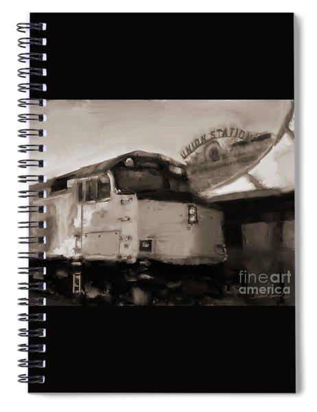 Union Station Train Spiral Notebook