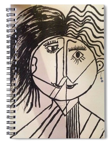 Spiral Notebook featuring the pastel Unisex by Samimah Houston
