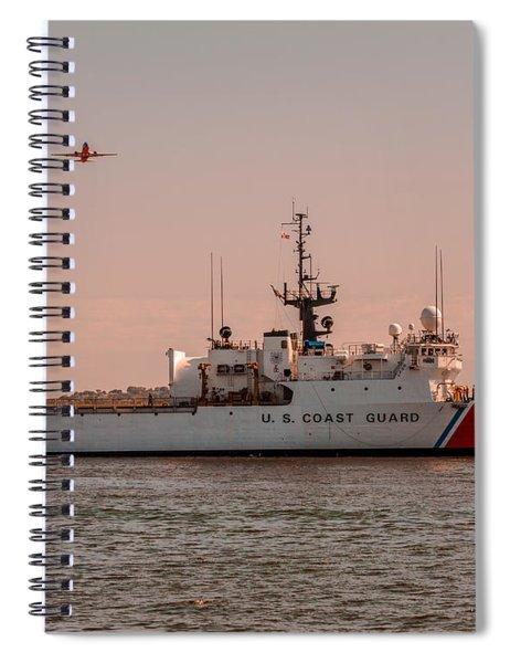 United States Coast Guard Cutter Escanaba Wmec-907 Spiral Notebook