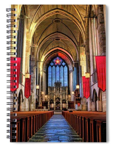University Of Chicago Rockefeller Chapel Spiral Notebook