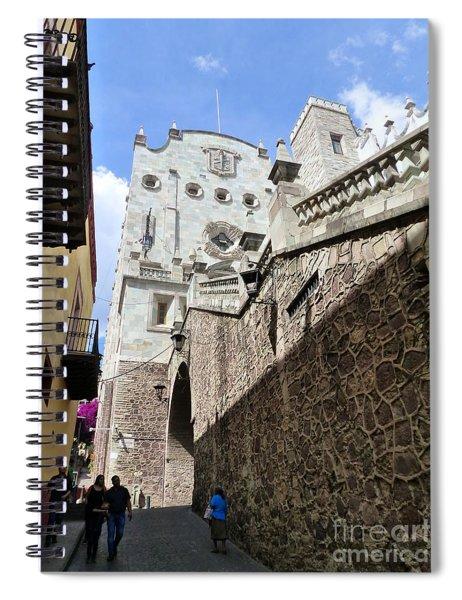 University Of Guanajuato Spiral Notebook