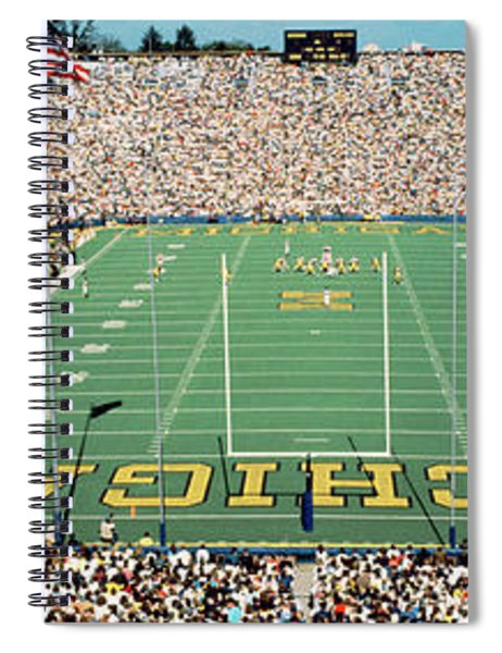 University Of Michigan Stadium, Ann Spiral Notebook